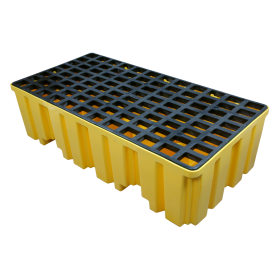 Homak 2 DrumSpill Containment Pallet YW00302660