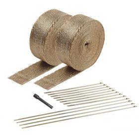DEI Exhaust Wrap Kit - Titanium  - 10095
