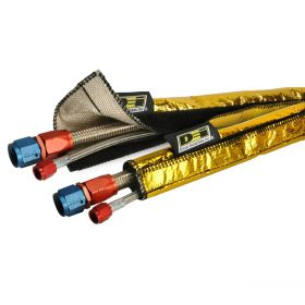 DEI Heat Shroud GOLD - 1/2 Inch to 1-1/4 Inch I.D. x 3ft - GOLD  - 10458