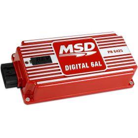 MSD Digital 6AL Ignition Control w/ Rev Limiter (Red) 6425
