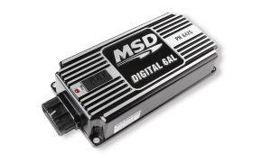 MSD Digital 6AL Ignition Control w/Rev Limiter (Black) 64253