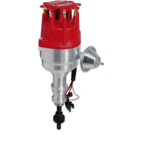 MSD Ford 351W Ready-To-Run Pro-Billet Distributor (Red) 8354