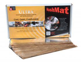 HushMat Bulk Kit - Silver Foil with Self-Adhesive Butyl-30 Sheets 12 Inchx23 Inch ea 58 sq ft 10501