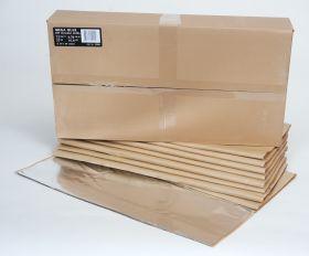 HushMat Mega Bulk Kit - Silver Foil with Self-Adhesive Butyl-9 Sheets 24 Inchx48 Inch ea 72 sq ft 10900