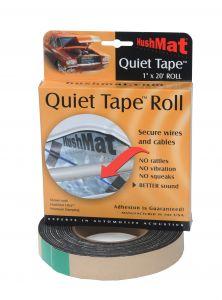 HushMat Quiet Tape Shop Roll - One 1 Inchx20'x1mm Single Side Foam Tape ea 30300