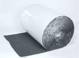 HushMat 1/2 Inch Silencer Megabond Thermal Insulating Self-Adhesive Foam Bulk Roll - 24 Inchx50' ea 100 sq ft 22500
