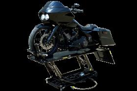 Titan Lifts LDML-1000L - Motorcycle Lift - Black - Diamond Plate Table - 1000 lb. Capacity LDML-1000L-BK