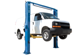 Titan Lifts HD2P-11000ACX - Clearfloor - Asymmetric - 11000 lb. Capacity HD2P-11000ACX