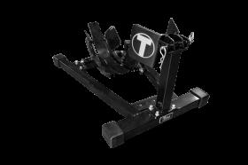 Titan Lifts Bulldog Moto Cradle Wheel Chock - Black WC-1500X-BK