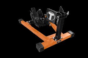 Titan Lifts Bulldog Moto Cradle Wheel Chock - Black/Orange WC-1500X-BO