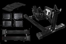 Titan Lifts Bulldog Moto Cradle Wheel Chock Kit - Custom Color WC-1500X-KIT-XX