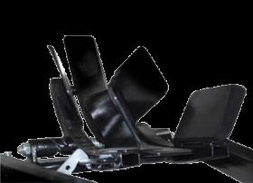 Titan Lifts Bulldog - Cradle Only - Black WC-1500-C-CP-BK
