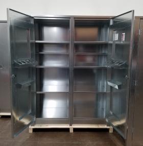 BADASS Workbench BRS-268 2- Door 60 Inch Steel Storage Cabinet - 268