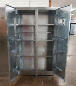 BADASS Workbench BRS-248 2- Door 48 Inch Steel Storage Cabinet - 248