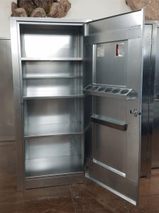 BADASS Workbench BRS-238 Single Door 36 Inch Steel Storage Cabinet - 238