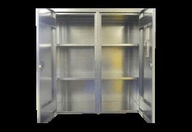 BADASS Workbench BRS-134 2-Door Wall Mount Steel Cabinet - 134