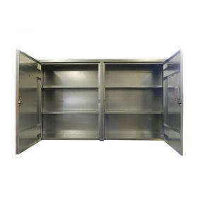 BADASS Workbench BRS-163 2-Door Wall Mount Steel Cabinet - 163