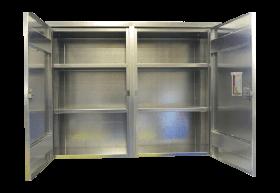 BADASS Workbench BRS-143 2-Door Wall Mount Steel Cabinet - 143