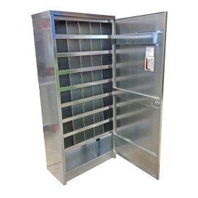 BADASS Workbench BRS-137B 40 - Hole Bin Cabinet W/Door - 137B