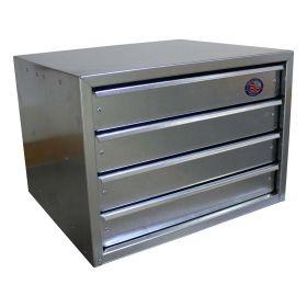 BADASS Workbench BRS-DM24 4 Drawer Modular Cabinet with Compartment - DM24