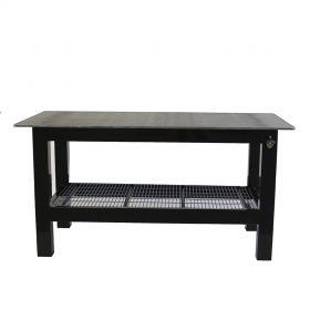 BADASS Workbench 3X6Weld-34 3FT X 6FT X 36 Inch TALL  WELDING TABLE WITH 3/4 Inch PLATE STEEL TOP  - 3X6WELD - 34
