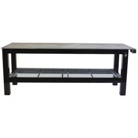 BADASS Workbench 3X8WELD-14 3FT X 8FT X 36 Inch TALL  WELDING TABLE WITH 1/4 Inch PLATE STEEL TOP  - 3X8WELD-14