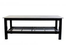 BADASS Workbench 4X8WELD-38 4FT X 8FT X 36 Inch TALL  WELDING TABLE WITH 3/8 Inch PLATE STEEL TOP  - 4X8WELD-38