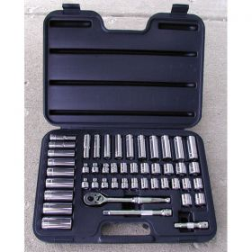 47 Piece 3/8 in Drive Socket Set ATD Tools 1245