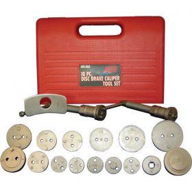 18 Piece Rear Disc Brake Caliper Set ATD Tools