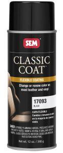 SEM Classic Coat Leather and Vinyl Paint Aerosol Black