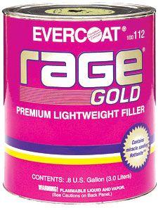 Evercoat Rage Gold Filler Gallon