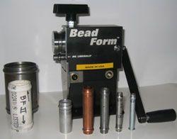 BF-II Creates .080in Bead on 2-4in Dia Steel Tube