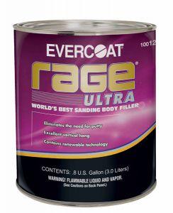 Rage Ultra Body Filler .8 Gallon