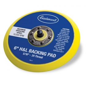 Eastwood 6 in H&L Backing Pad