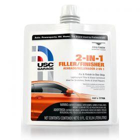 USC Garage 2-IN-1 Filler/Finisher 77705 with Hardener