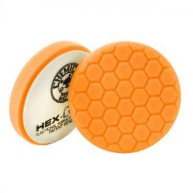 "Chemical Guys Hex-Logic Orange 6.5"" Medium-Heavy Cutting Pad"