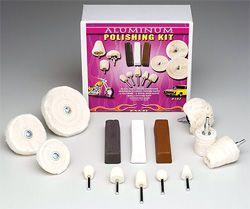 Aluminum Polishing Kit 13 pc set