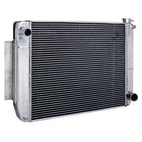 Maxx Power Chevy Style Tri Flow Aluminum Radiator 26 Inch