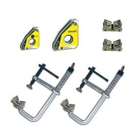 6pc clamp kit for welding table