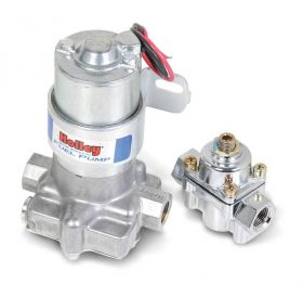Holley 110 GPH Blue Electric Fuel Pump With Regulator 12-802-1