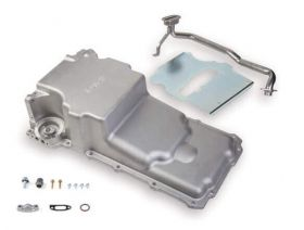 Holley GM LS Retro-fit Oil Pan- Additional Front Clearance 302-2