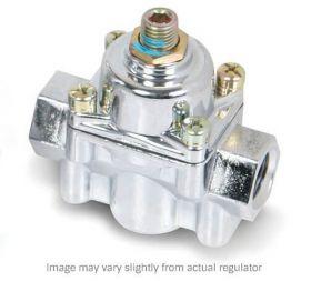 Holley Chrome Carbureted Fuel Pressure Regulator 1-4 PSI 12-804