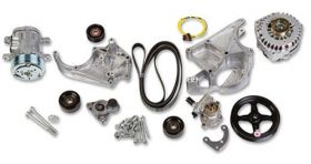 Holley LS/LT Complete Accessory Drive Kit 20-138