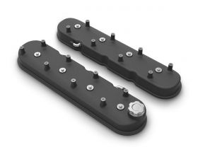 Holley Tall LS Valve Covers Satin Black 241-112