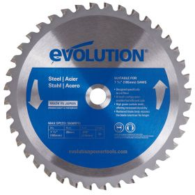 """Evolution 7.25"""" Steel Cutting Replacement Blade"""