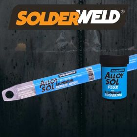 SolderWeld Alloy Sol - Aluminum Repair and Joining Rods (10 rods per tube) SW-AS09310