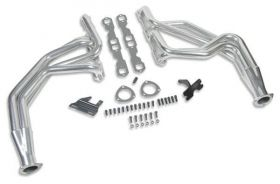 63-91 GM Small Block Hooker Competition Long Tube Header - Ceramic Coated 2452-1HKR