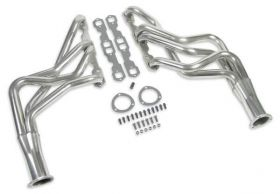 67-87 GM Small Block Hooker Competition Long Tube Header - Stainless 2451-2HKR
