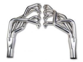 GM F/X-Body Hooker Blackheart Long Tube Header - Ceramic Coated 70101508-1HKR