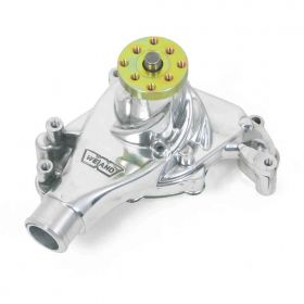 GM Small Block Weiand Action +Plus Water Pump - Polished 9240P